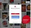 "Pinterest is content sharing service that allows members to ""pin"" images, videos and other objects to their pinboard."