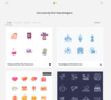 A library of free vector icons for personal and commercial projects, designed by first-class designers.